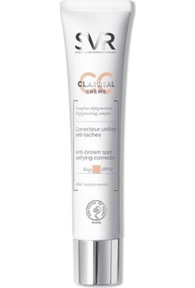 Svr Clairial Cc Creme Beige Spf50 Renk Düzenleyici 40 Ml