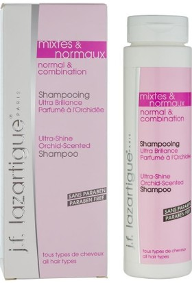J.F Lazartique Rmal & Combination Ultra Shine Shampoo Orkide Kokulu Parlaklık Veren Şampuan 200 Ml