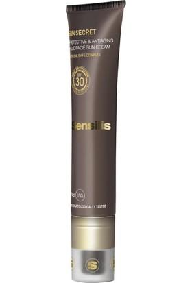 Sensilis Sun Secret Fluid Face Sun Cream Güneş Koruyucu Krem 40Ml
