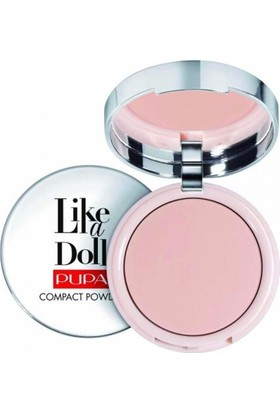 Pupa Milano Like A Doll Compact Powder - Pudra Sublime Nude Spf15 10 Gr