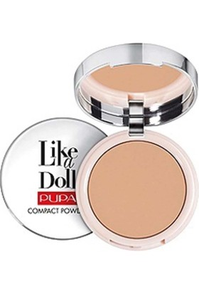 Pupa Milano Like A Doll Compact Powder - Pudra Golden Honey Spf15 10 Gr