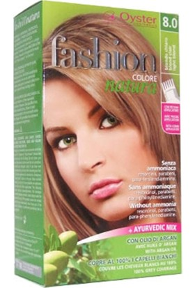 Fashion Colore Natura Saç Boyası 8.0 Light Blond