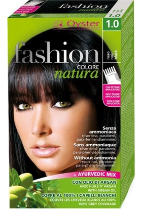 Fashion Colore Natura Saç Boyası 1.0 Black
