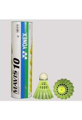 Yonex Maviis - 10 - M Naylon Tüy Top(3.Lü) - Sarı
