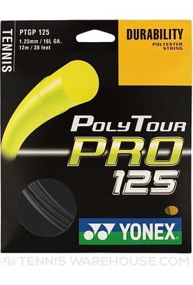 Yonex Pt Pro 125 (12M) Tenis Kordajı - Sarı