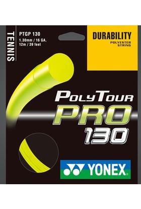 Yonex Pt Pro 130 (12M) Tenis Kordajı - Sarı