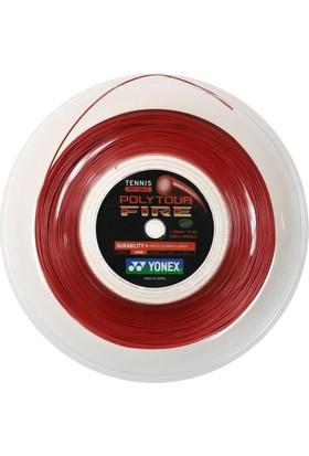 Yonex Tb Fire 125 - 2(200M)Tenis Kordajı - Kırmızı