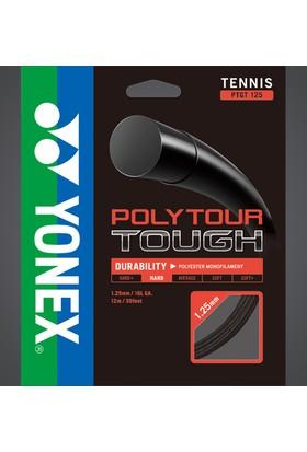 Yonex Pt Tough 125(12M)Tenis Kordajı - Siyah