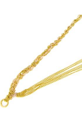 Tuğrul Kuyumculuk Altın Taşsız Bileklik T031058