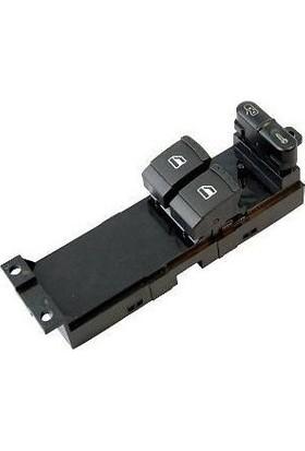 Wolcar Skoda Fabia 2000-2008 Cam Açma Anahtarı Sol 2 Li