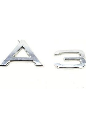Wolcar Audi A3 Yazı