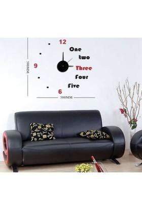 Dıy Clock Yeni Nesil 3D Duvar Saati Mini Model 3