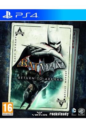 Batman Return To Arkham PS4 Oyun