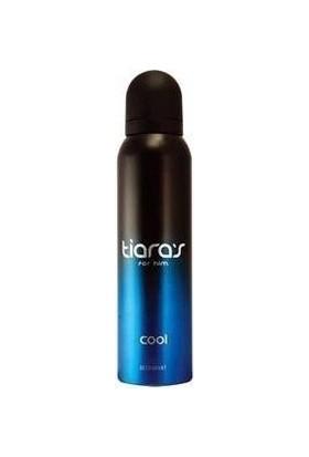 Tiaras Cool Deo Spray 150Ml Erkek Deodorant