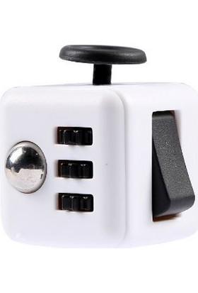 Probiel Orijinal Fidget Cube Kikstarter Versiyon Stres Küpü Siyah Beyaz