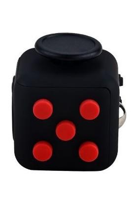 Probiel Orijinal Fidget Cube Kikstarter Versiyon Stres Küpü Siyah Kırmızı