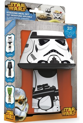 Starwars Stormtrooper 3Lü Yemek Seti