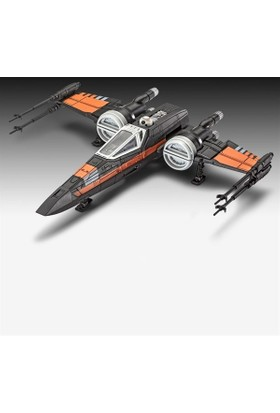Star Wars Yap Oyna Poes X-Wıng Model Set Revell