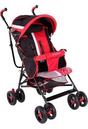 Babyhope Sa - 7 Baston Bebek Arabası Kırmızı
