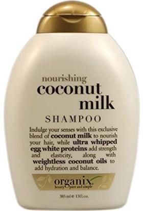 Organix Coconut Milk Shampoo Besleyici Hindistan Cevizi Sütlü Şampuan 385 ml