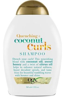Organix Coconut Curls Shampoo Nemlendirici Hindistan Cevizli Bukle Şampuanı 385 ml