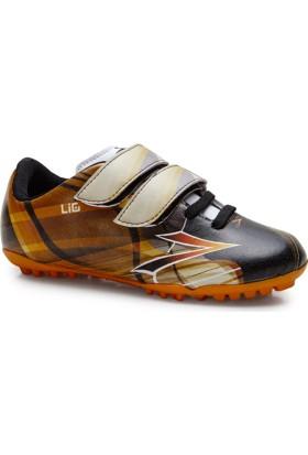 Lig Quantum Halı Saha Çocuk Ayakkabısı Siyah