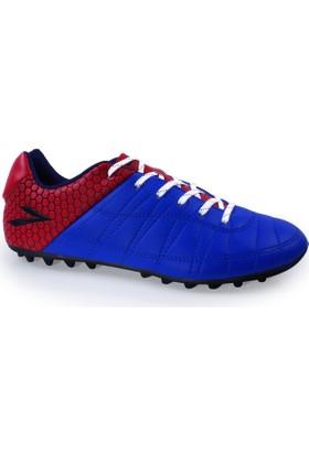 Lig Ilgaz Halı Saha Ayakkabısı Saks-Kırmızı