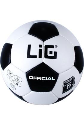 Lig Offical Futbol Topu Siyah-Beyaz