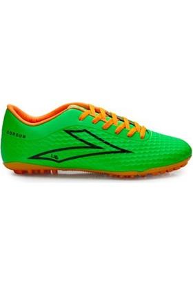 Lig Sorgun Halı Saha Ayakkabısı Yeşil-Turuncu