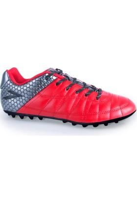 Lig Ilgaz Halı Saha Ayakkabısı Kırmızı- Antrasit