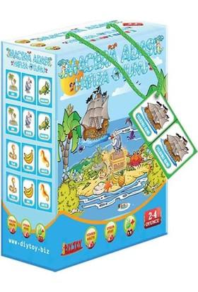 Diytoy Macera Adası Hafıza Oyunu Mca2112, 3+ Yaş