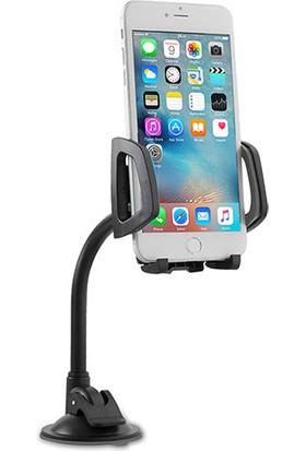 Addison ADS-119 Universal Ayarlanabilir Siyah/Gri Araç Telefon Tutucu