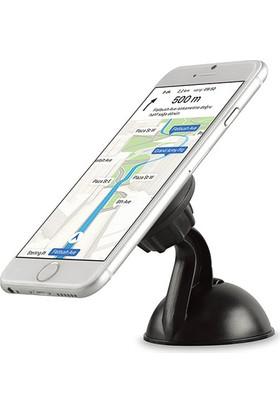 Addison ADS-59 Universal Ayarlanabilir Siyah Mıknatıslı Araç Telefon Tutucu