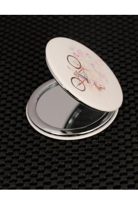 Morvizyon Bisiklet Figürlü Cep Aynası