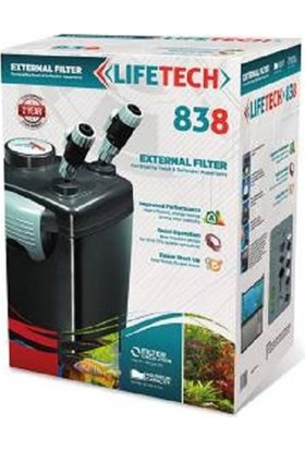 Jebo Life Tech 838 Dış Filtre 4 Sepetli 1200 L/H Dolu