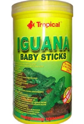 Tropical Iguana Baby Sticks 1200 Ml-Yavru Yemi 260Gr