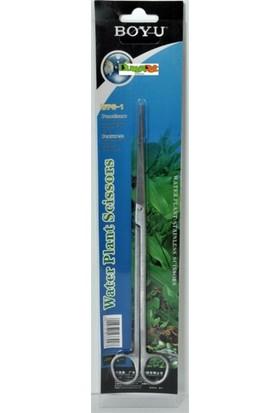 Boyu Düz Uçlu Bitki Makası 25,5 Cm