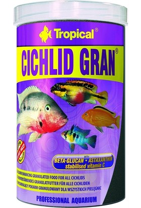 Tropical Cichlid Gran 250Ml 138Gr