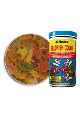 Tropical Goldfish Color Flakes 600Ml 110Gr