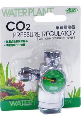 İsta Co2 Pressure Regulator (Basınç Ölçer İle)