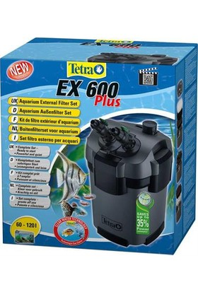 Tetra Ex 600 Plus Akvaryum Dış Filtre 600 Lt/S