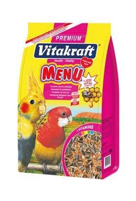 Vitakraft Menü Premium Pareket Yemi 1000Gr 5 Adet