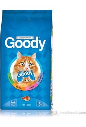 Goody Balıklı Yetişkin Kedi Maması 15 Kg