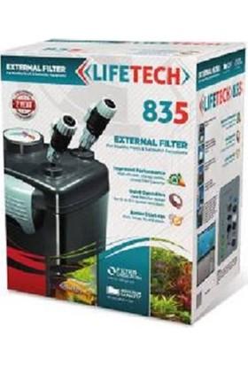 Life Tech 835 Dış Filtre 1000Lt/Saat 3 Sepetli Dolu