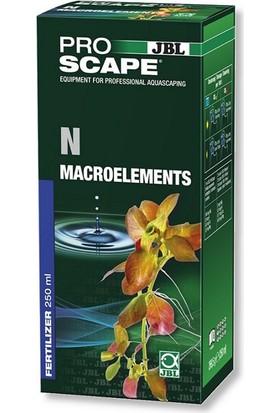 Jbl Proscape N Makro Element Sıvı Gübre 250 Ml