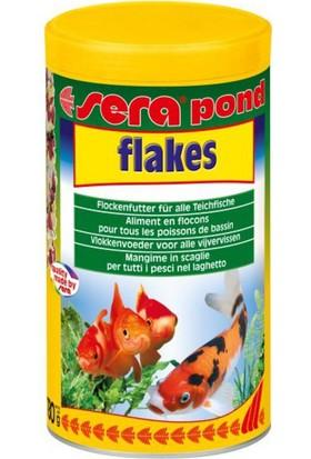 Sera Pond Flakes Japon Koi Balığı Yemi 1000 Ml