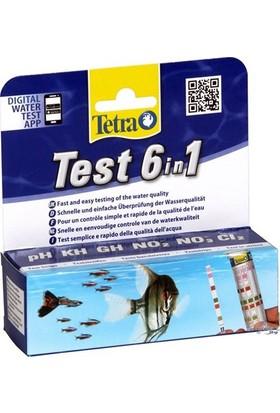 Tetra Test 6 İn 1 Tatlı Su Strip Test 25 Adet