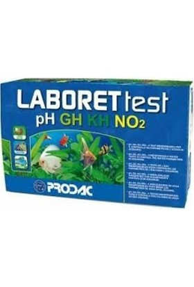Prodac Laboret Test Kit (Ph, Gh, Kh, No2)