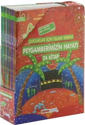 Çocuklar İçin Peygamberimizin Hayatı (24 Kitap Renkli Resimli) - A. Cude es-Sahhar