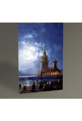 Tablo 360 Carlo Bossoli Kız Kulesi Tablo 45X30